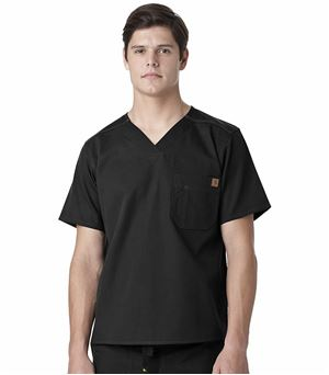 Carhartt Men's Ripstop Utility Scrub Top-C15108 (Black - Large)