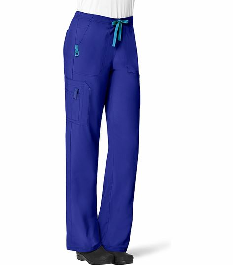 Carhartt Force Crossflex Women's Drawstring Cargo Scrub Pants-C52110