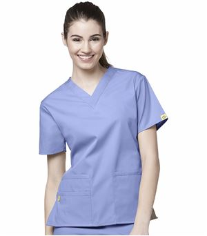 WonderWink Origins Bravo Women's V-Neck Scrub Top-6016