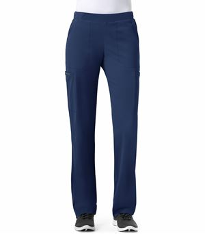 WonderWink HP Women's  Straight Leg Elastic Cargo Scrub Pants-5112