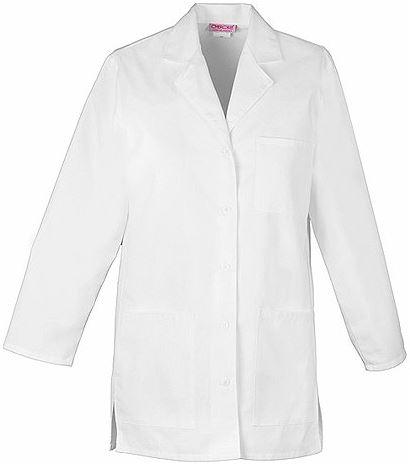 """Cherokee Women's 32"""" White Lab Coat-1462"""