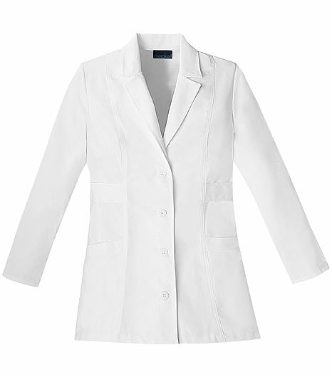 "Cherokee Fashion Women's 30"" White Lab Coat-2316"