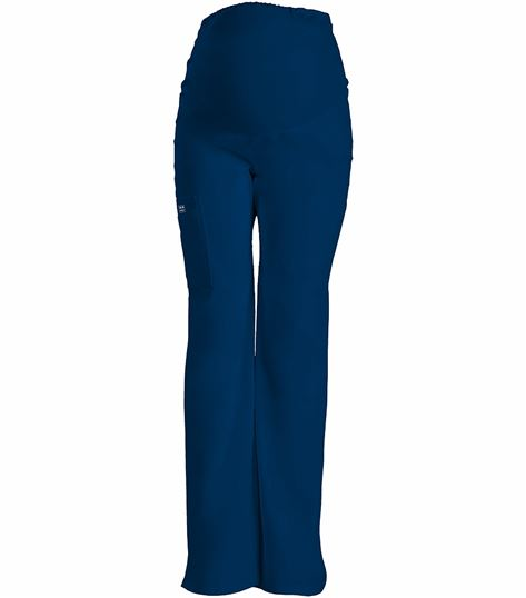 Cherokee WorkWear Core Stretch Maternity Cargo Scrub Pants-4208