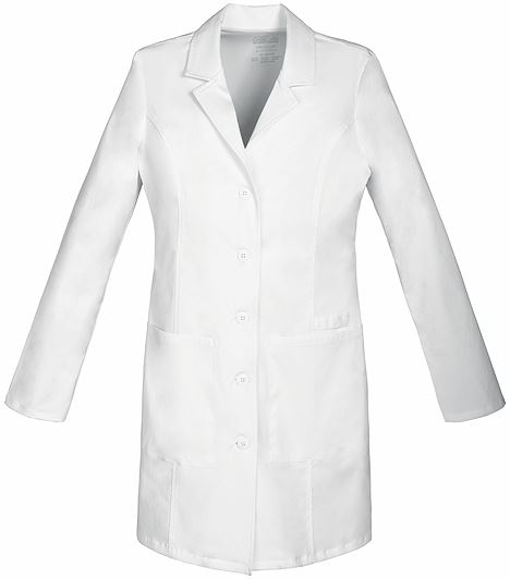 "Cherokee WorkWear Core Stretch Premium Women's 33"" Lab Coat-4439"