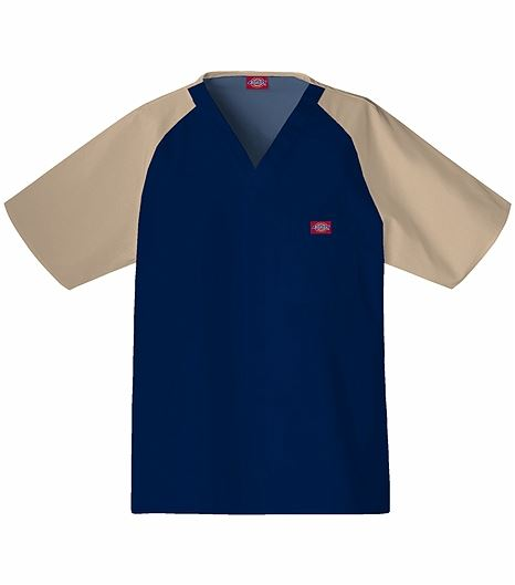 Dickies Everyday Scrubs Mens Raglan Sleeve Top 816107