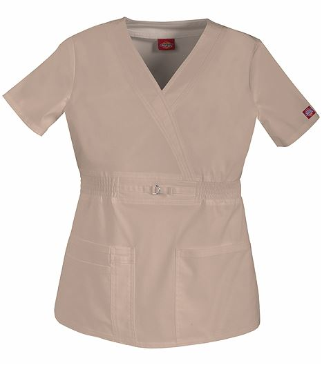 Dickies GenFlex Mock Wrap Top 82880