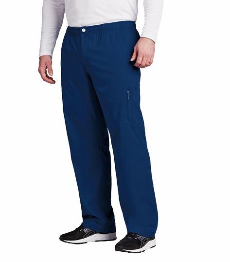 Grey's Anatomy Active Men's Zip Fly Cargo Scrub Pants-0215