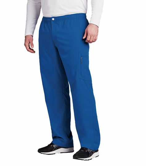 Grey's Anatomy Active Men's Zip Fly Cargo Scrub Pants-0215
