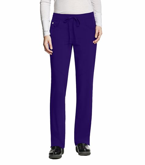 Barco Grey's Anatomy Women's Straight Leg, Low Rise Scrub Pants-2210