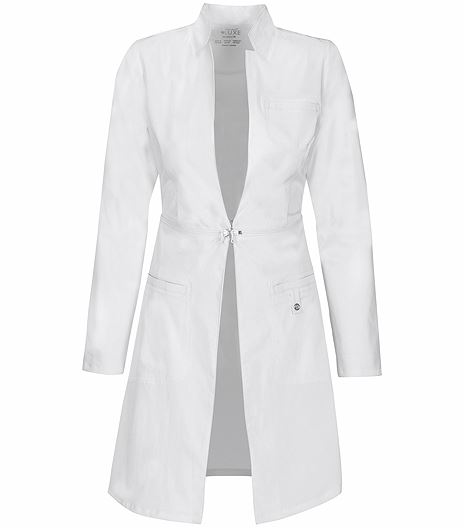"Cherokee Luxe  Women's 32""  Princess Seam Lab Coat-1404"