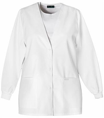 Dickies Professional Whites Button Front Warm-up Jacket 1301