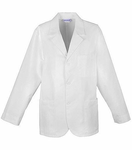 "Med-Man 31"" Men's White Consultation Lab Coat-1389"