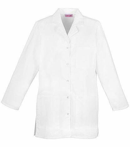 "Cherokee 32""  Snap Front Lab Coat 1369"
