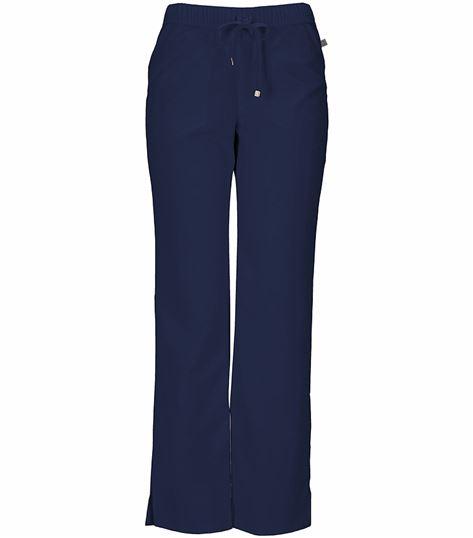 HeartSoul Women's Low-Rise Straight Leg Scrub Pants-20102A