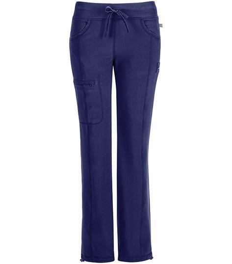 Cherokee Infinity Women's Elastic Waist Cargo Scrub Pants-1123A