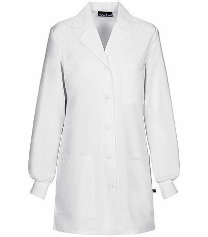 "Cherokee Women's White 32"" Lab Coat-1362AB"