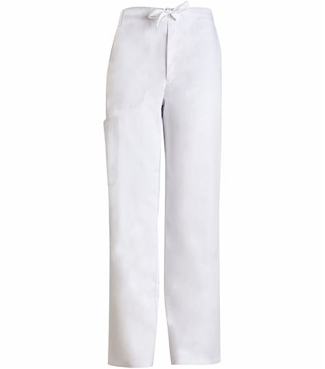 Cherokee Luxe Men's Elastic Waist Cargo Scrub Pants-1022