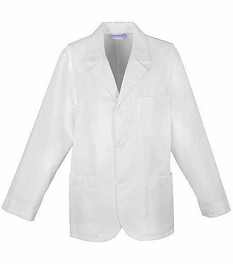 """Med-Man 31"""" Men's White Consultation Lab Coat-1389"""