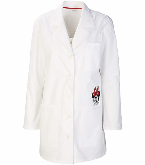 Tooniforms Disney Women's White Lab Coat-TF400
