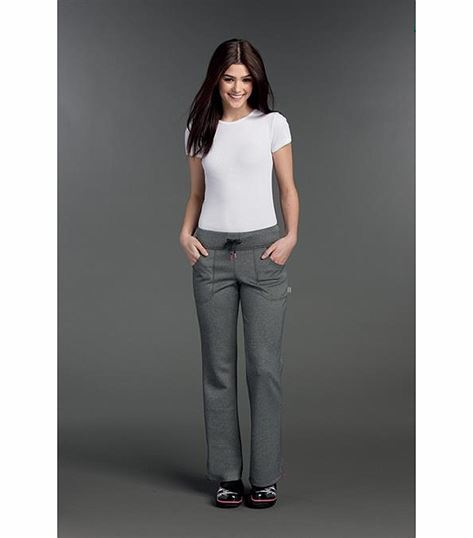 Smitten FULL DRAW WAIST, FLARE PANT W/ SIDE VENTS S201018
