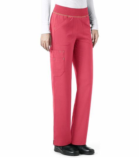 Carhartt Women's Straight Leg Knit Waist Cargo Scrub Pants-C52310