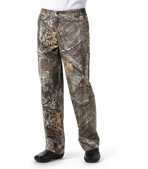 Carhartt Men's Utility Printed Camouflage Cargo Scrub Pants-C55405