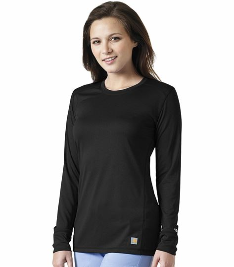Carhartt Women's Long Sleeve Underscrub Knit Tee-C33109