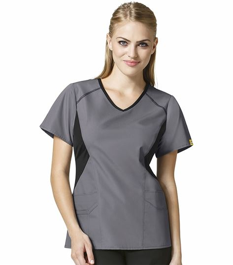 Wonderwink Origins Women's V-Neck Scrub Top-6196