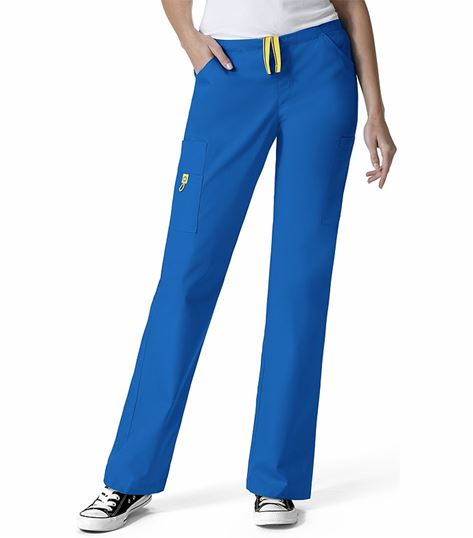 Wonderwink Origins Women's Straight Leg Cargo Scrub Pants-5066