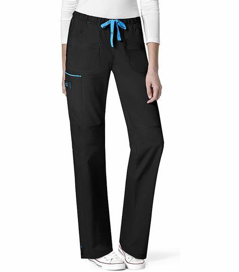Wonderwink WonderFLEX Women's Drawstring Cargo Scrub Pants-5508