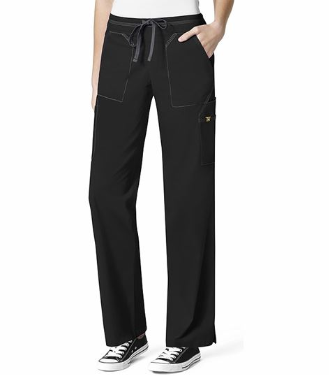 Wonderwink 7 Flex Women's Drawstring Cargo Scrub Pants-5701