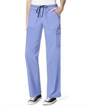 Wonderwink 7 Flex Women's Drawstring Cargo Scrub Pants-5701