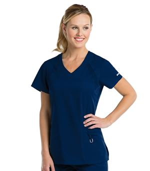 Grey's Anatomy Active Women's Solid V-Neck Scrub Top-41447