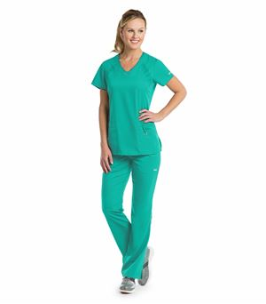 Grey's Anatomy Active Women's Solid V-Neck Scrub Top-41447