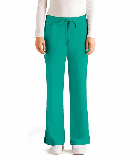 Grey's Anatomy Women's 5 Pocket Drawstring Scrub Pants-4232