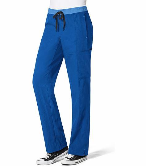 Wonderwink Four-Stretch Women's Straight Leg Cargo Scrub Pants-5814