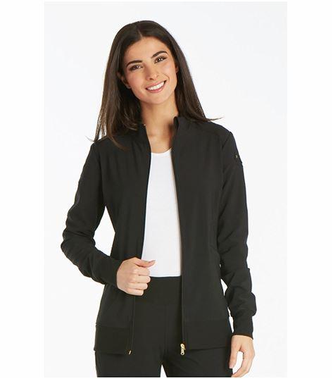 Cherokee Iflex Women's Zip Up Warm-Up Scrub Jacket-CK303
