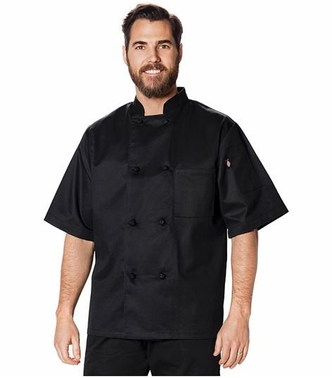 Dickies Chef Classic Knot Button Chef Coat S/s DC48