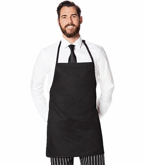 Dickies Chef Bib Apron, Adj. Neck,no Pkt DC52