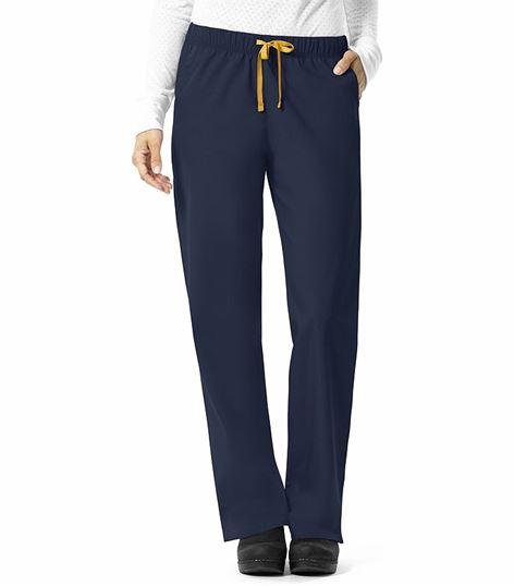 Carhartt Women's Straight Leg Pull On Scrub Pants With Drawstring-C56201