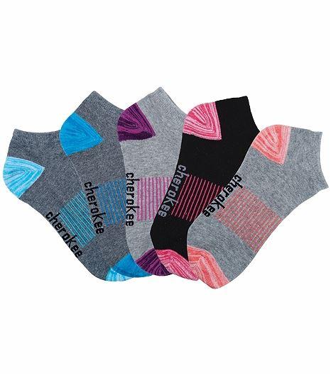 Cherokee Hosiery 6-5pr Packs Of No Show Socks GOODOLGREYS