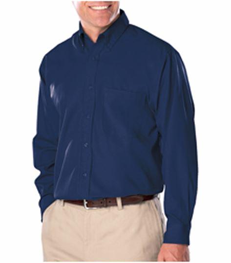 SUPERBLEND Men's Long Sleeve Easy Care Poplin Shirt BG7266