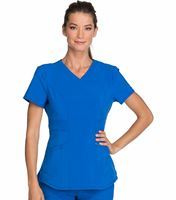 Infinity By Cherokee Women's Solid V-Neck Scrub Top-CK623A