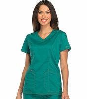 Dickies Essence Women's Solid V-Neck Scrub Top-DK803