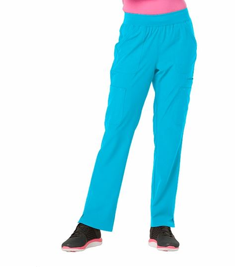 c00018c2741 HeartSoul Women's Elastic Waist Pull On Cargo Scrub Pants-HS020 | Medical  Scrubs Collection