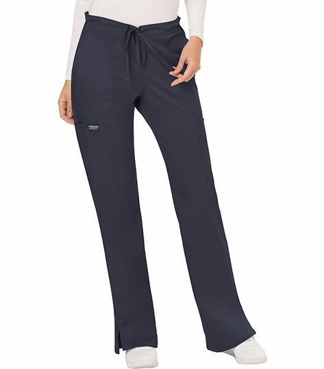Cherokee Workwear Revolution Women's Drawstring Flare Scrub Pants-WW120