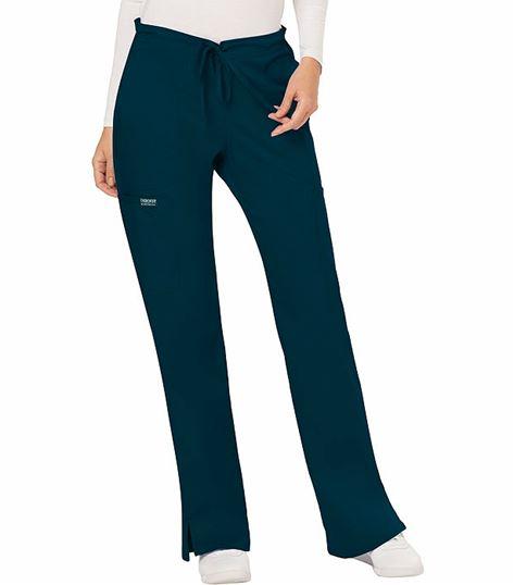 Cherokee Workwear Revolution Women's Drawstring Flare Scrub Pants-WW120