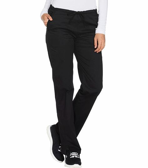 Cherokee WorkWear Stretch Women's Straight Leg Drawstring Scrub Pants-WW130