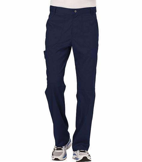 Cherokee Workwear Revolution Men's Fly Front Cargo Scrub Pants-WW140