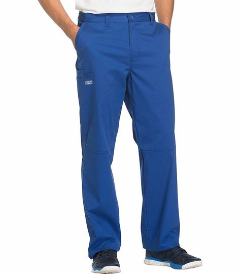 Cherokee WorkWear Core Stretch Men's Fly Front Scrub Pants-WW200